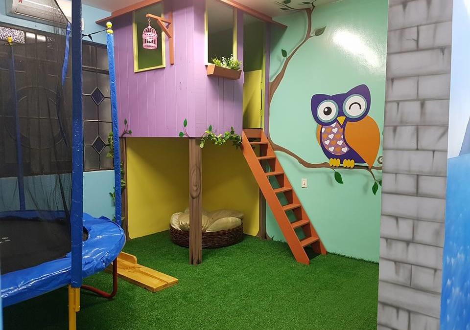 Corujinha, o primeiro hotelzinho infantil