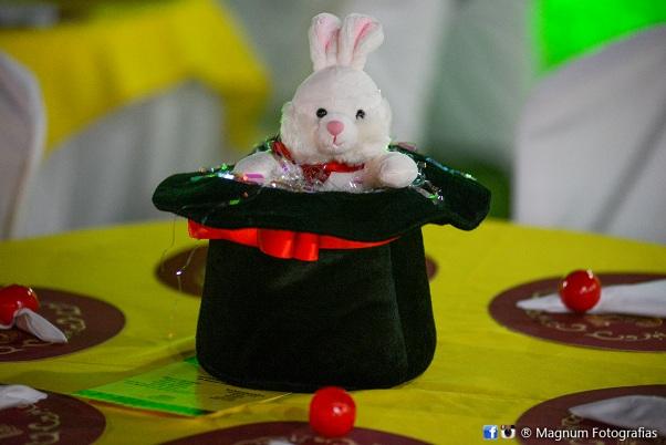 Circo joao centro de mesa