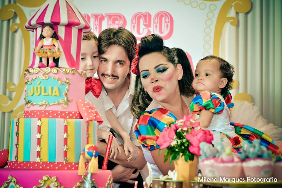 circo da juju família
