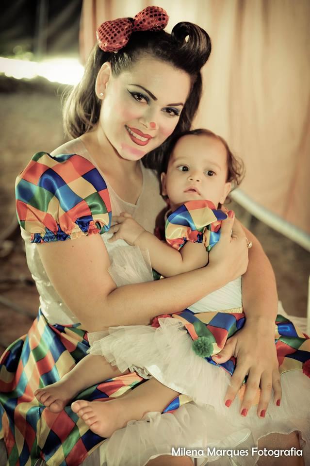 circo juju mae e filha