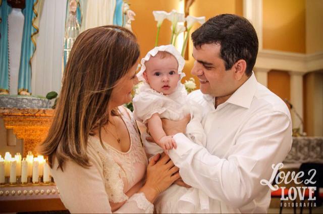 Batizado da Letícia