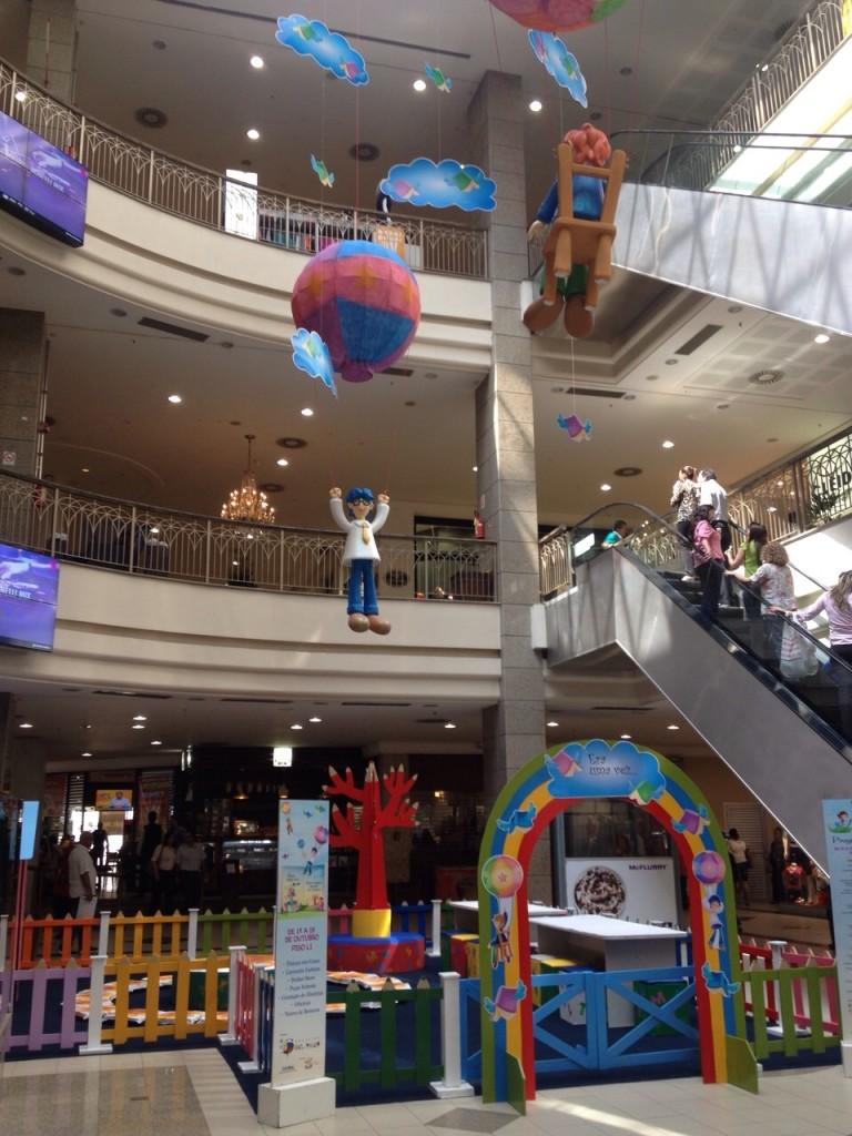 Campanha Crianças Shopping Del Paseo - Decoração