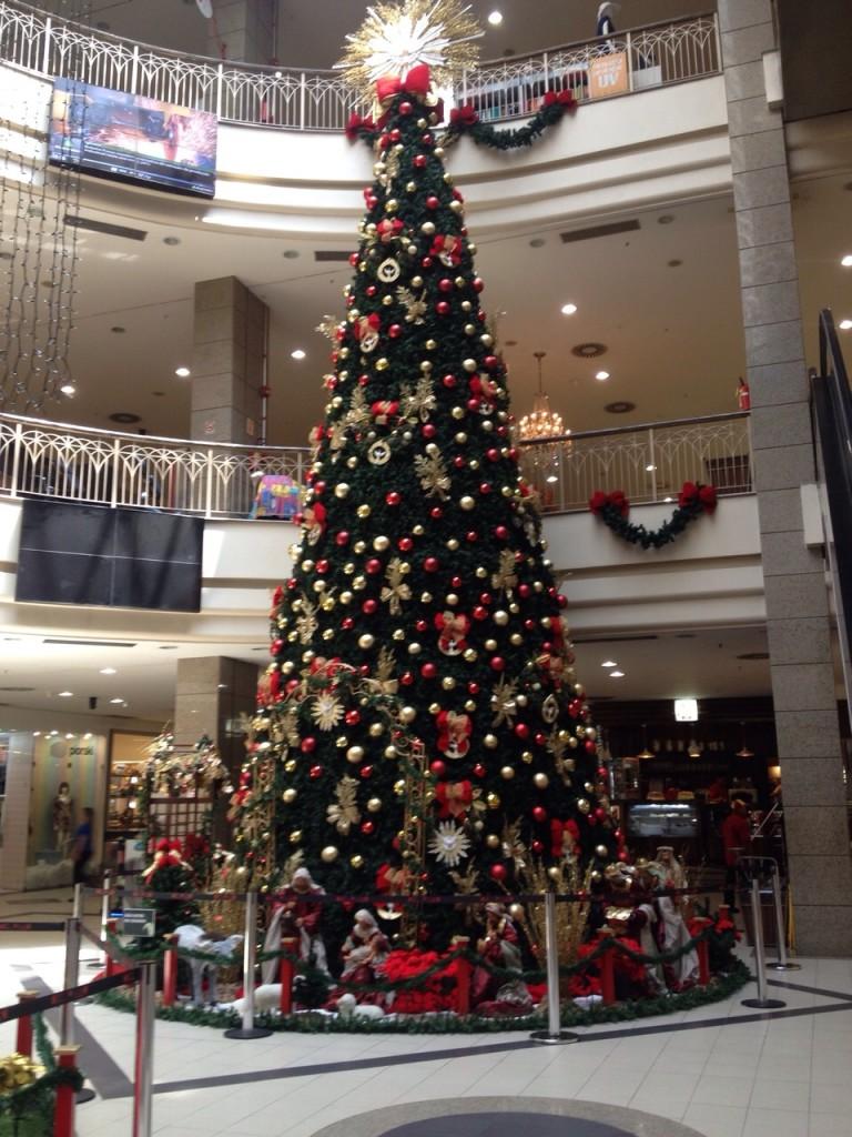 Decoração de Natal Shopping Del Paseo (2)