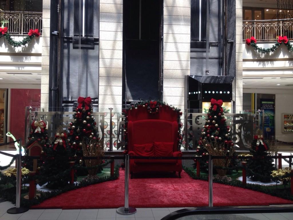 Decoração de Natal Shopping Del Paseo (3)