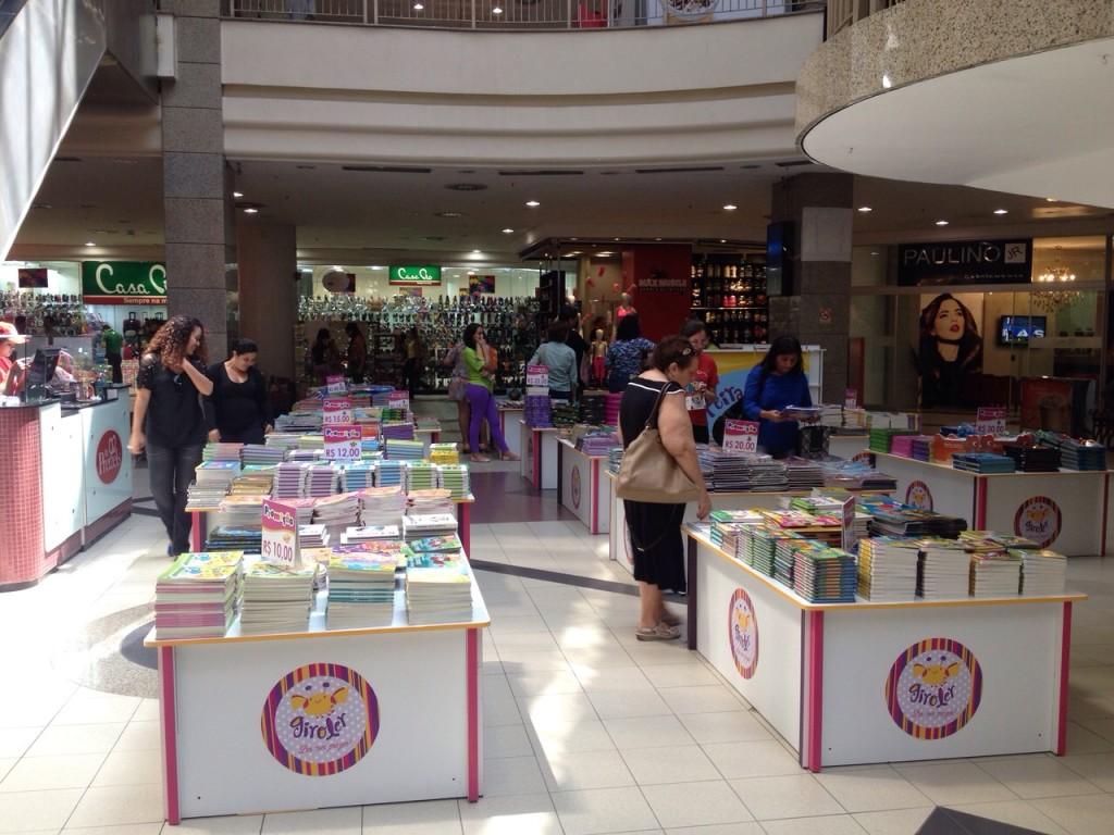 Feira do livro infantil Shopping Del Paseo