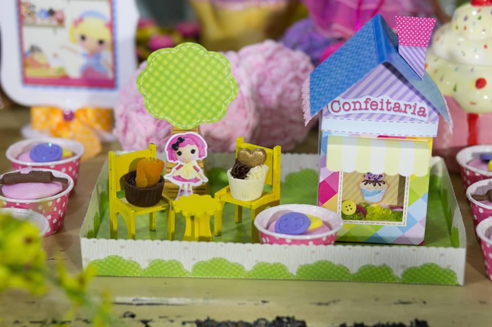 casinha de cupcake