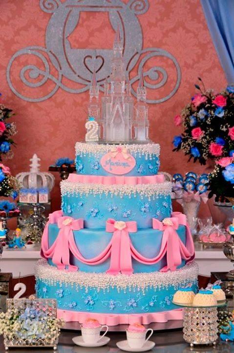 festa princesa bolo1