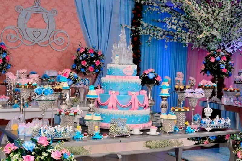 festa princesa close