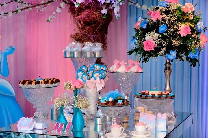 festa princesa mesa chocos