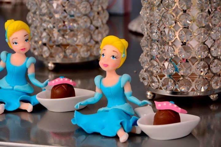 festa princesa porcelana