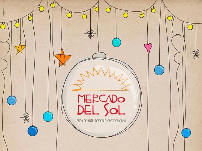 Primeira edição natalina do Mercado del Sol
