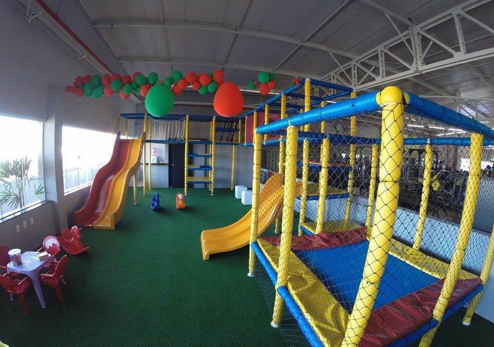 Espaço infantil nas academias, uma tendência
