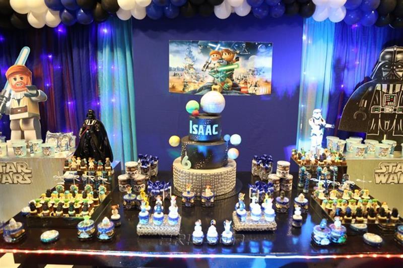 Isaac e a turma do Star Wars