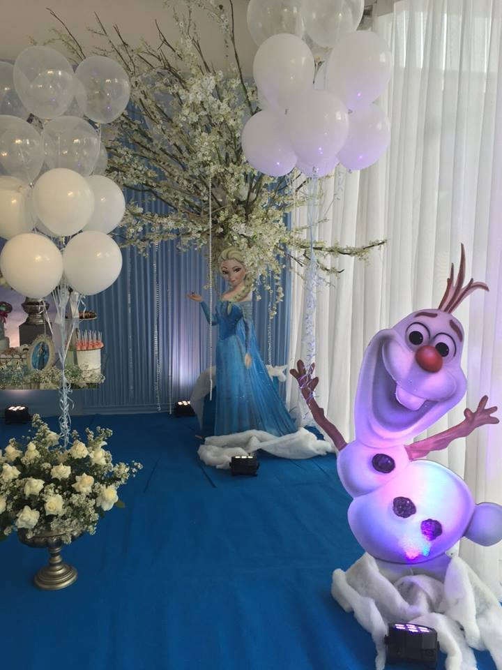 frozen decor