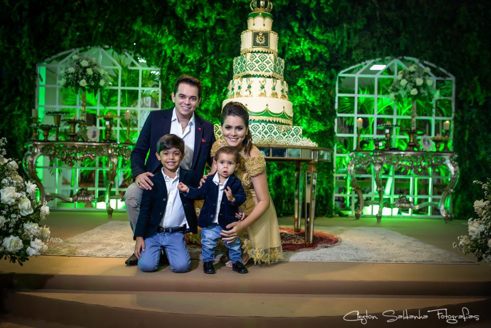 João Miguel bolo e familia
