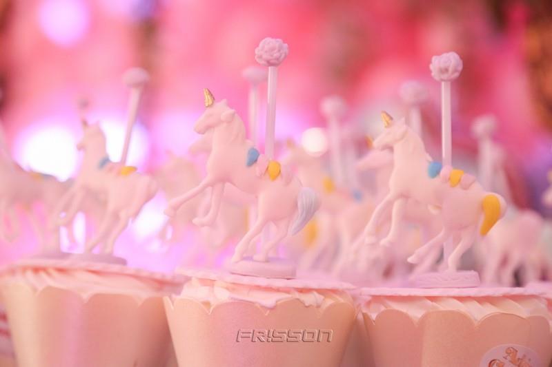 Mundo encantado Maria Sophia cupcakes