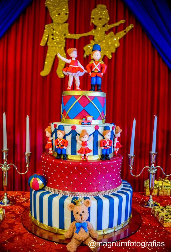 soldadinho de chumbo e bailarina bolo