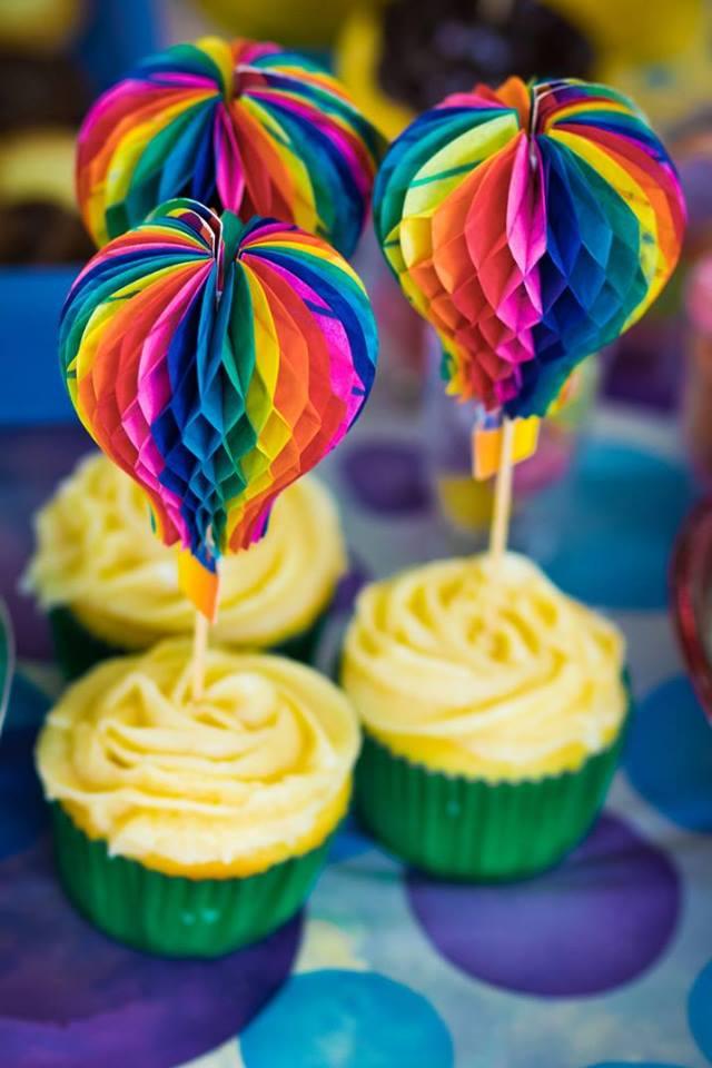 leo enfeite cupcakes