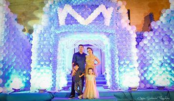 O Reino do Frozen de Maria Liz e Lucas