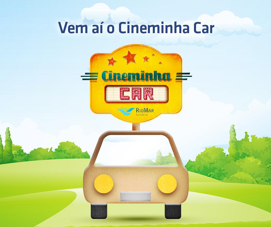 """""""Cineminha Car"""" para a criançada"""