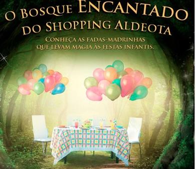 O Bosque Encantado do Shopping Aldeota