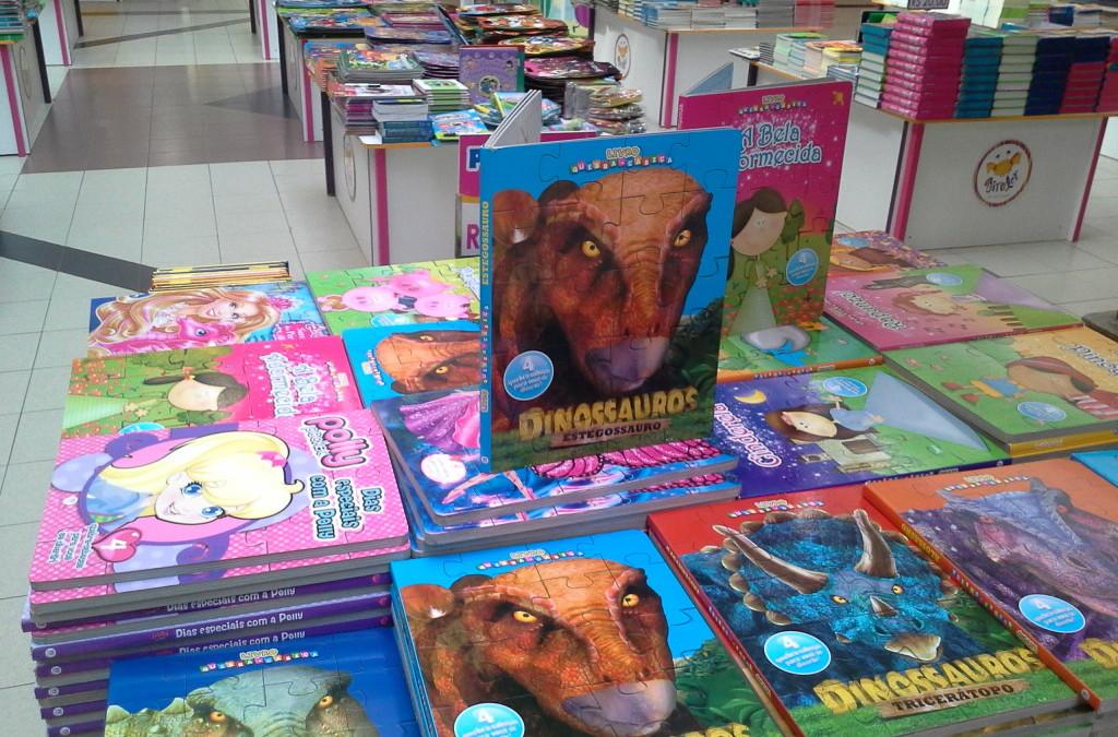 Feira de livros infantis Giroler no Del Paseo