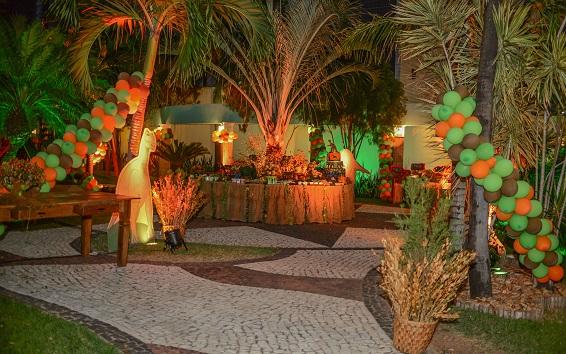 Aniversario Vitor Martins decoração