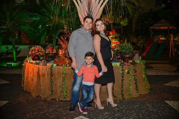 Aniversario Vitor Martins familia