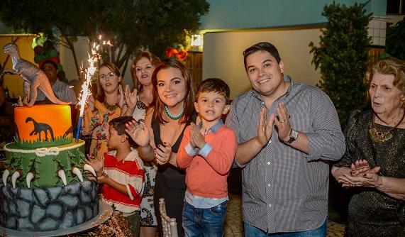 aniversario Vitor Martins Karla Maggy e Ubiratan Filho