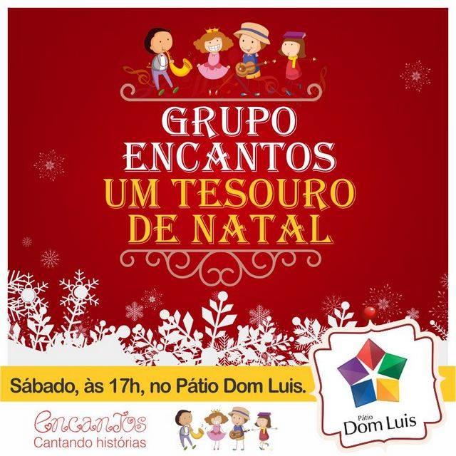 Encantos de Natal, um espetáculo do Pátio Dom Luís