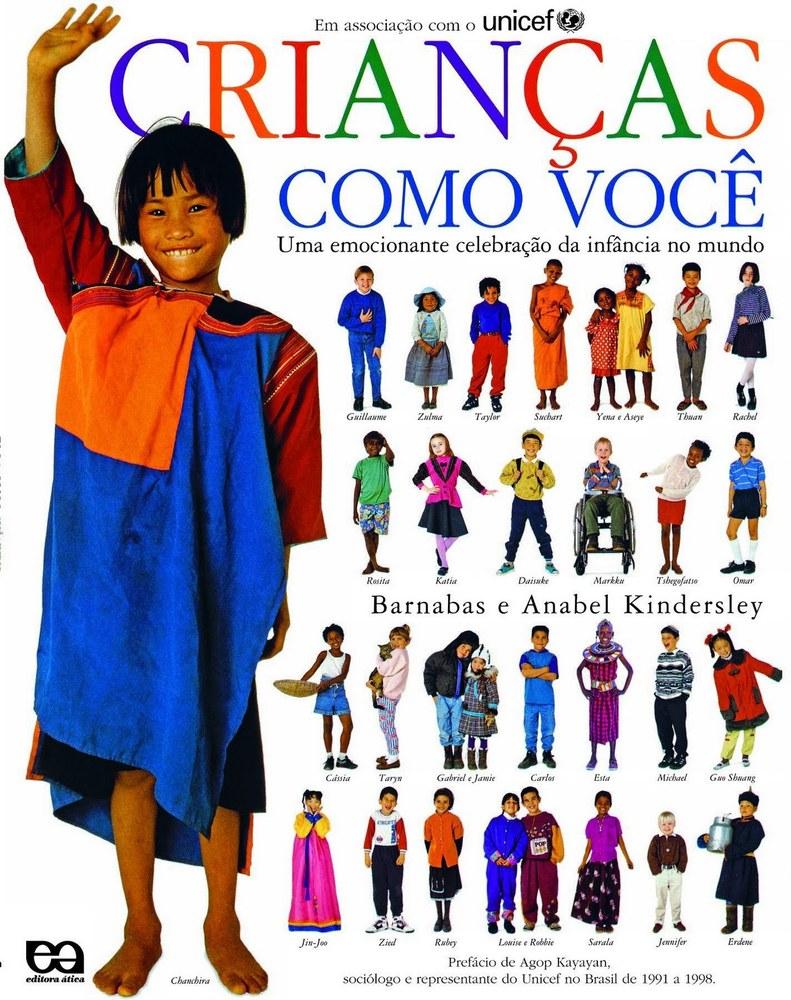 livro crianças como voce