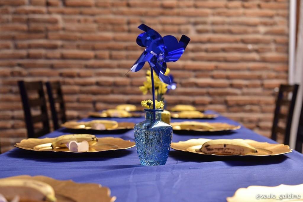 Minion Artur mesas convidados