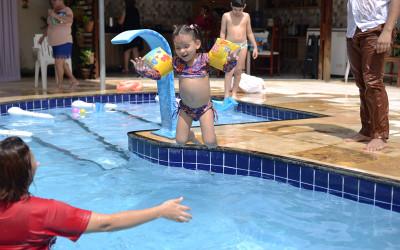 Pool Party da Manu: tibum na diversão