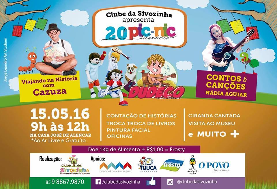 20º Pic Nic Literário Clube da Sivozinha