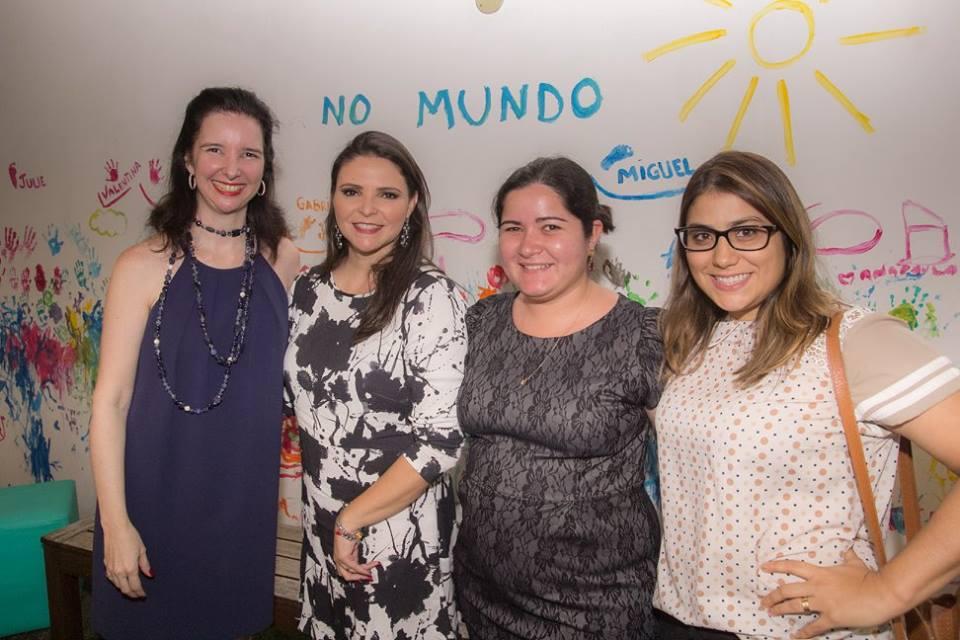 Ana Paula Harley, Christianny Diógenes, Liduína Figueiredo e Natália Teixeira