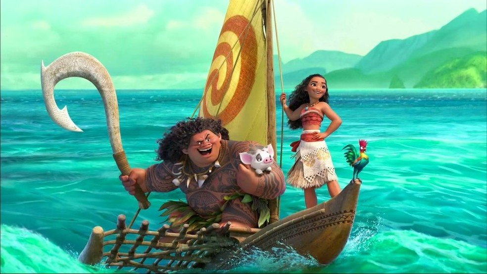 A animação Moana: Um Mar de Aventuras, o grande lançamento para as férias