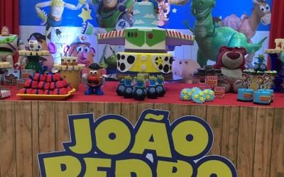 João Pedro e a turma do Toy Story