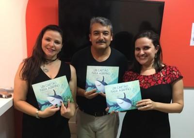 Christianny Diogenes, Carlos Velázquez e Leticia Ribeiro