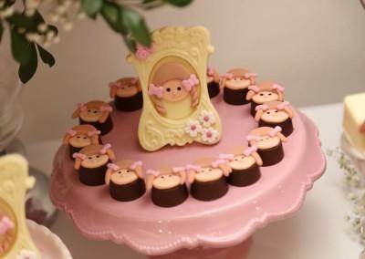 casa de boneca chocolates