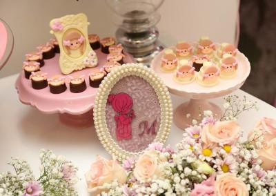 casa de boneca doces