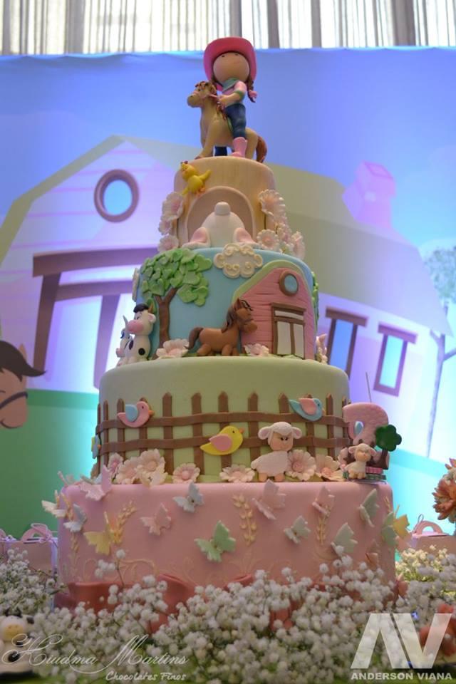 fazendinha bolo