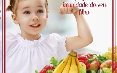 Hábitos saudáveis melhoram a imunidade dos pequenos