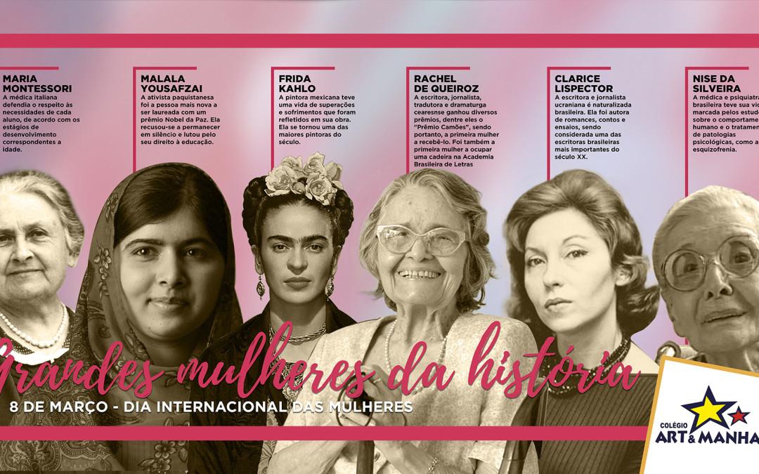 Colégio Art e Manha lança a semana das Mulheres
