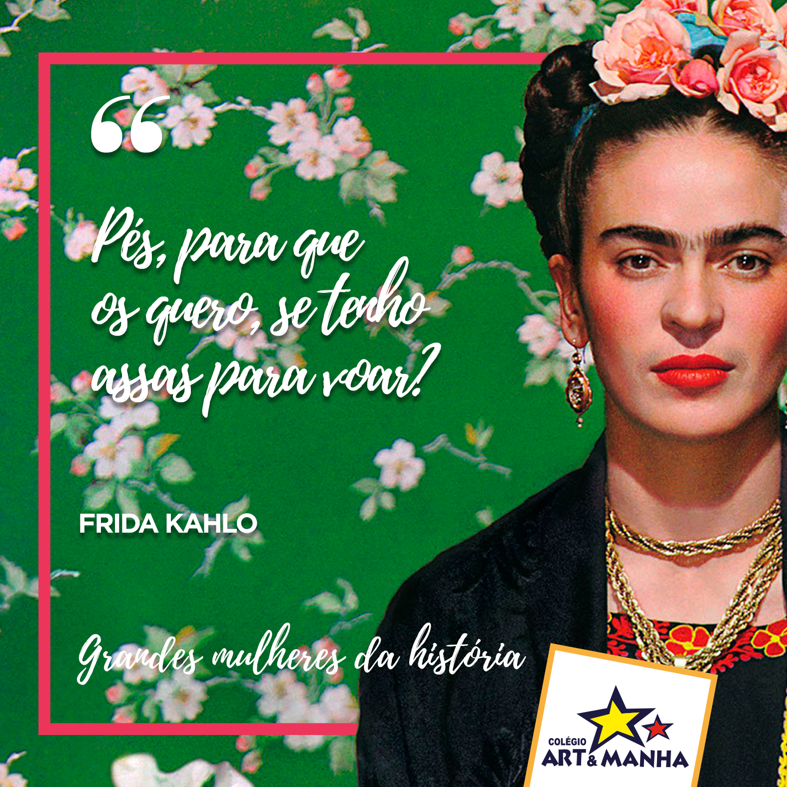 Frida Kahlo - frase dia 2