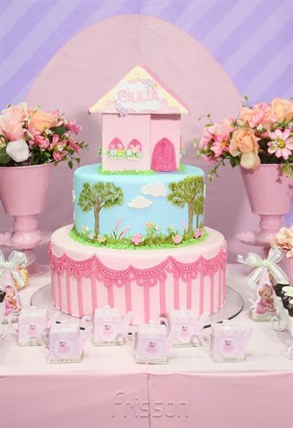 1 ano da Giulia bolo