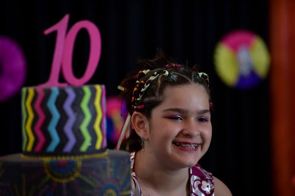 Maria Eduarda faz 10